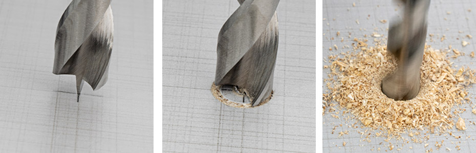 ENT 09225 DURADRILL Holzbohrer-Set 25-teilig - Eigenschaften