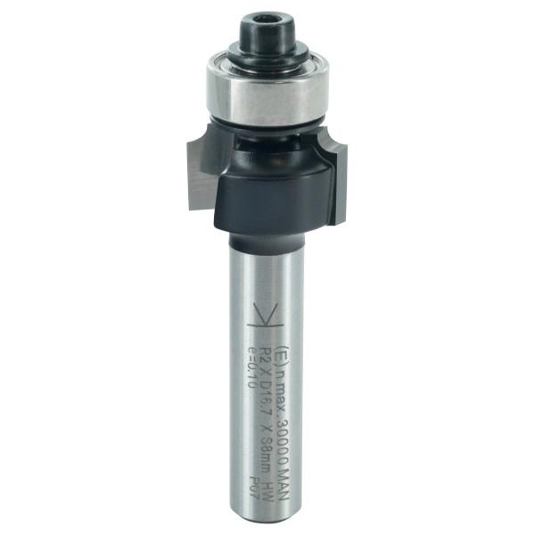 ENT Abrundfräser HW mit Kugellager S8x32 R2 D16,7x9,5mm