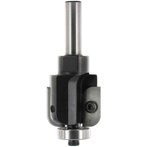ENT Wendeplatten Hohlkehlfräser HW (HM) S8x30 Z2 R6 D32x24mm mit Kugellager