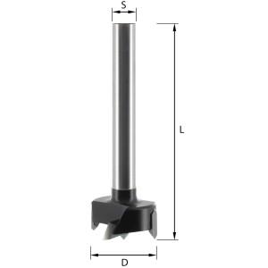 ENT Zylinderkopfbohrer HW (HM) S10 D28 GL90mm