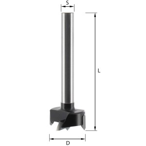 ENT Zylinderkopfbohrer HW (HM) S10 D30 GL90mm