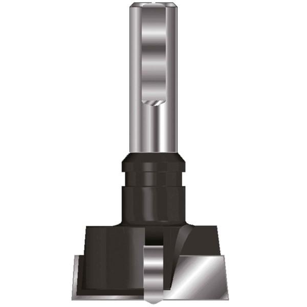 ENT Zylinderkopfbohrer HW (HM) mit Spannfläche S10 D30 GL57mm Links