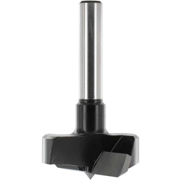 ENT Zylinderkopfbohrer HW (HM) für Handoberfräse S8 D26 GL60mm