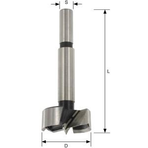 ENT Forstnerbohrer WS S8 D22 mm L 90 mm