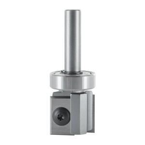 ENT 20320 Wendeplatten Bündigfräser HW S8 Z2 D22x20mm mit Kugellager
