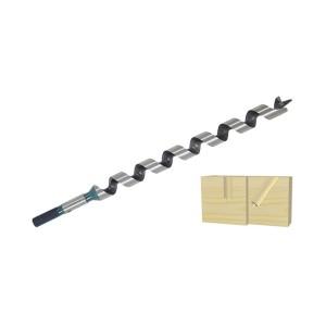 """ENT Schlangenbohrer 7mm - NL165 GL235mm S7mm und S1/4"""" 6-kant"""
