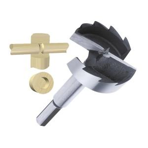 ENT Spur Bit 45mm - NL90 GL150 S12,7 - 3 Flächen