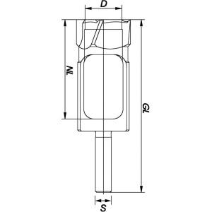 ENT Zapfenschneider Premium HSS HSS 20mm - NL80 GL140 S13mm