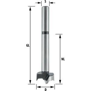 ENT Kunstbohrer WS 36mm - NL95 SL50 GL145 S16mm