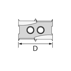 ENT Bohrsystem-Wendemesser Ø 20 mm für...