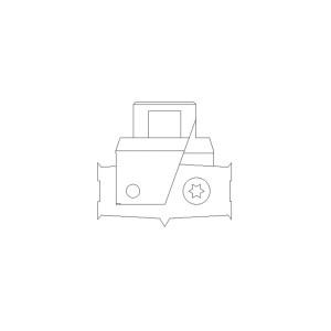 ENT Bohrsystem-Bohrkopf Größe 2 für...