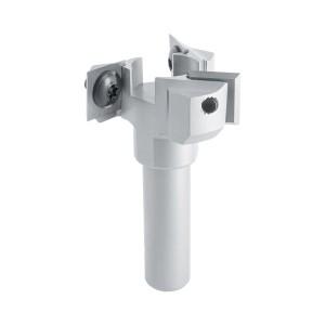 ENT Wendeplatten Planfräser HW, Schaft (S) 12 mm,...