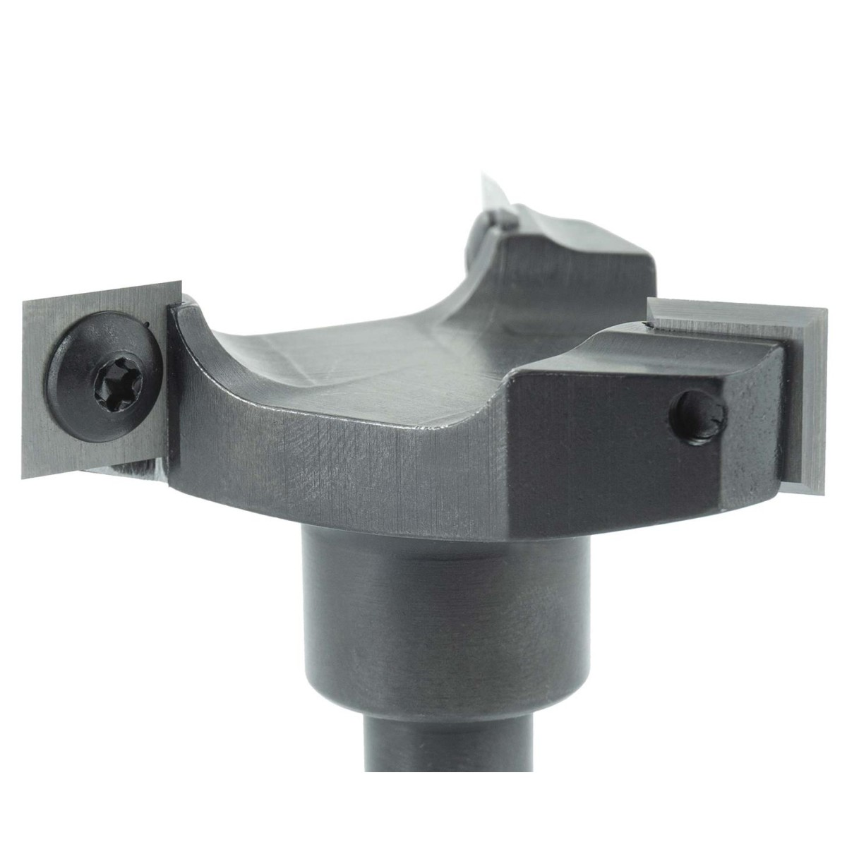 47 mm C A ENT 16465 Flachd/übelfr/äser HW D 40 mm mit 3 Kugellager Schaft HM 12 mm Durchmesser B 3,97 mm